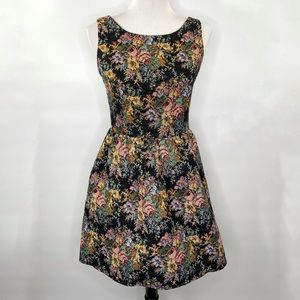 Freeway Floral Embroidered Dress